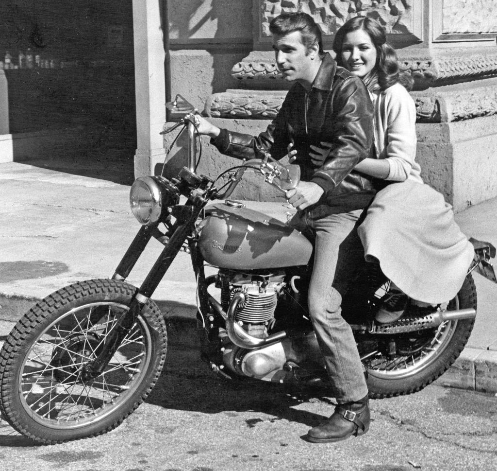 Fonze Triumph1317415299 12 Amazing Facts You Didn't Know About Happy Days