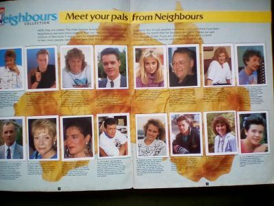 IMG 20180415 180038 The Neighbours Sticker Album! What Stickers Were There To Collect?