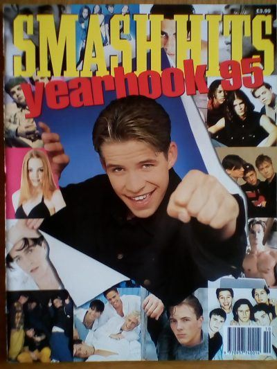 IMG 20180416 180350 The Smash Hits Yearbook! Which Stars Were Featured In 1995?