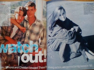 IMG 20180416 180810 The Smash Hits Yearbook! Which Stars Were Featured In 1995?