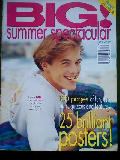 IMG 20180425 142554 Big! Summer Spectacular! Which Stars Were In Its Pages in 1993?