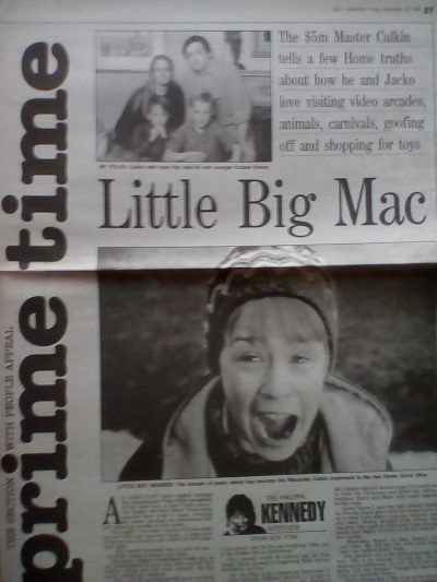 IMG 20180426 184853 What Did 12 Year Old Macaulay Culkin Say In His Daily Express Interview?