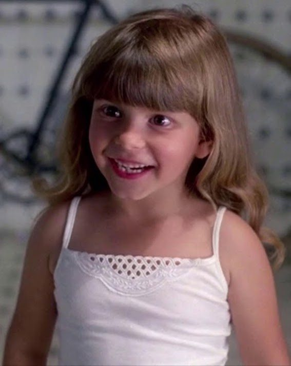 Judith Barsi as a child