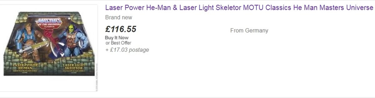 LASER EBAY 10 He-Man And She-Ra Toys That Are Now Worth A Lot Of Money