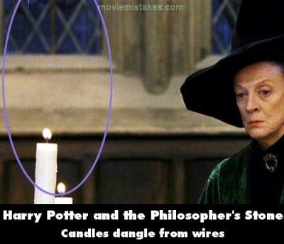 Potter 1 22 Movie Mistakes That Still Ended Up On The Big Screen