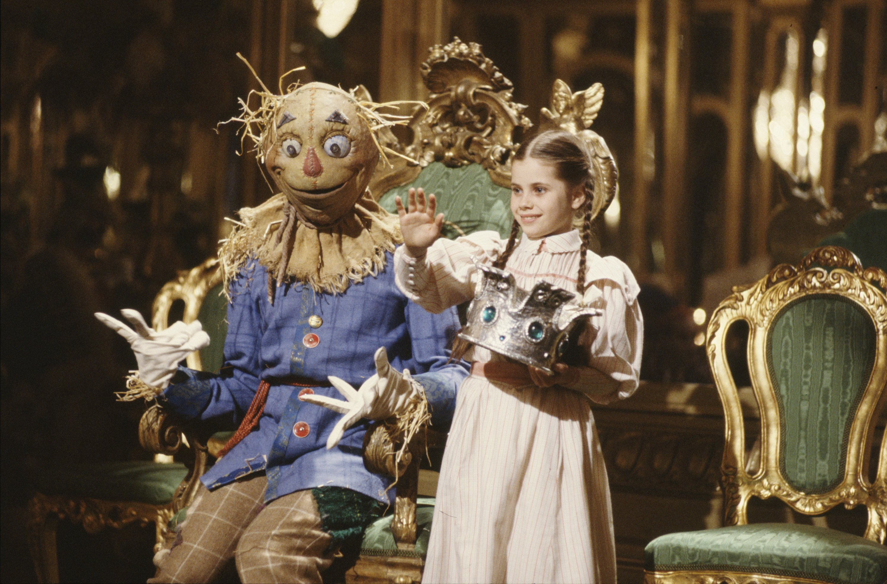 A scene from Return To Oz