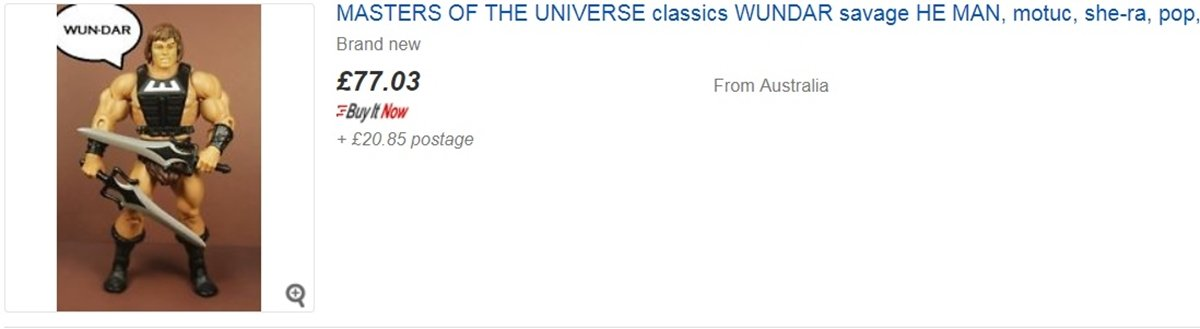 SAVAGE EBAY 10 He-Man And She-Ra Toys That Are Now Worth A Lot Of Money
