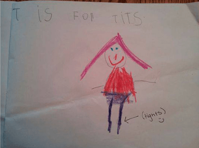 Screen Shot 2018 04 13 at 13.52.23 31 Examples Of When Childrens Drawings Go Horribly Wrong