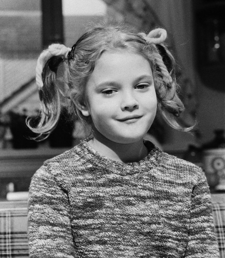 Drew Barrymore as a child