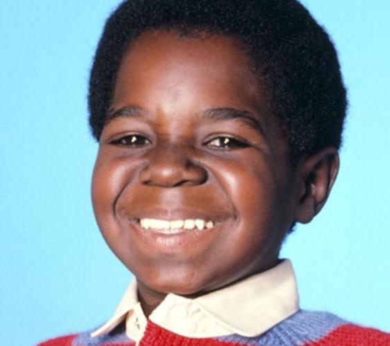Gary Coleman as a child