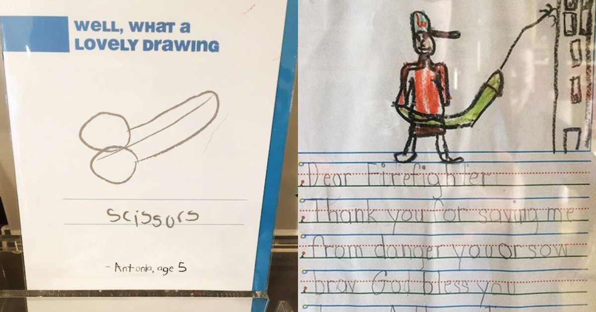 31 Examples Of When Childrens Drawings Go Horribly Wrong