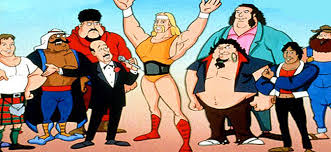 1. Hulk hogan 12 Of The Weirdest Cartoons We Used To Love Watching