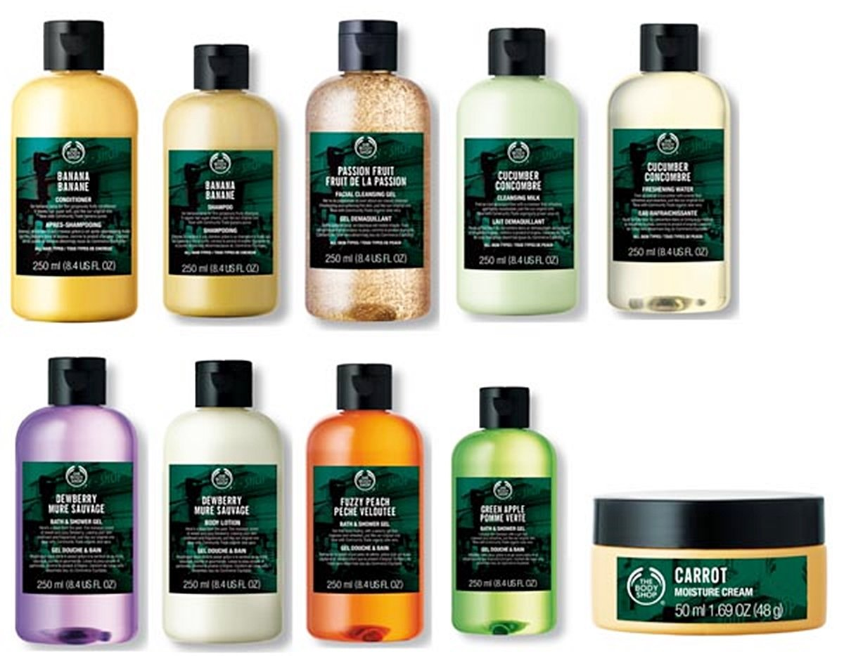 10 1 10 Things We All Bought From The Body Shop In The 1980s