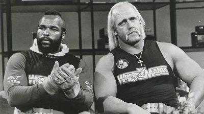 Mr T and Hulk Hogan