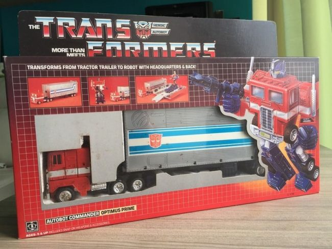 1458223442 optimus prime action figure The 20 Most Valuable Toys from Your Childhood - Do You Have Any Of These?