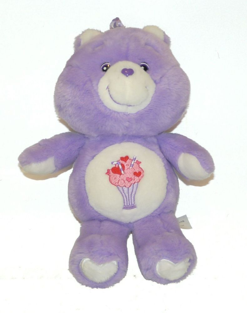 The violet-coloured Share Care Bear