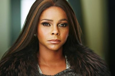A glamour shot of Lark Voorhies
