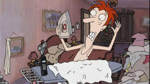 2. stressed 12 Of The Weirdest Cartoons We Used To Love Watching