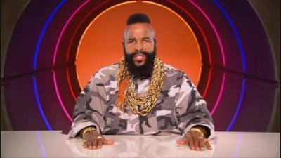 mr t on television