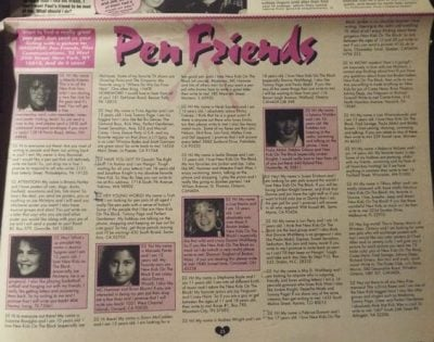 3. pen pals 12 Reasons We Didn't Need Smartphones In The 1980s