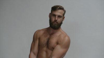 Goselaar in his modelling days
