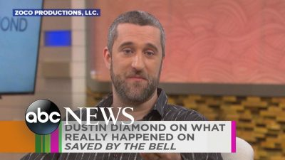 Diamond in an interview for Saved By The Bell