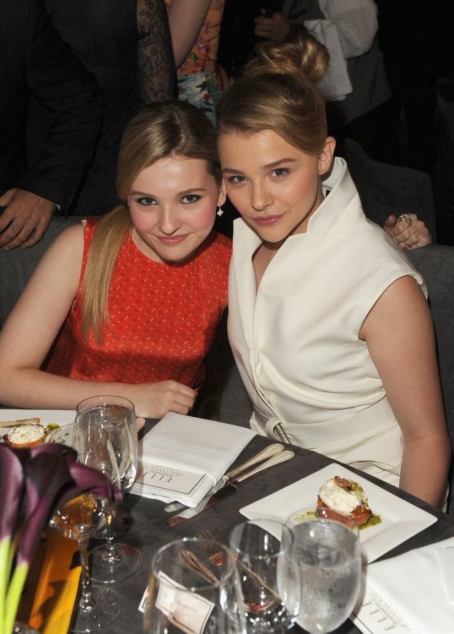 Abigail Breslin Chloë Grace Moretz These 25 Celebs and Their Doppelgangers Will Make You Look Twice