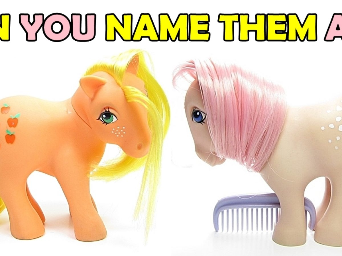 The Original My Little Pony Names