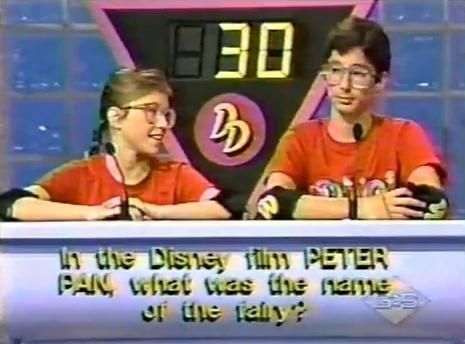 Contestants on Double Dare