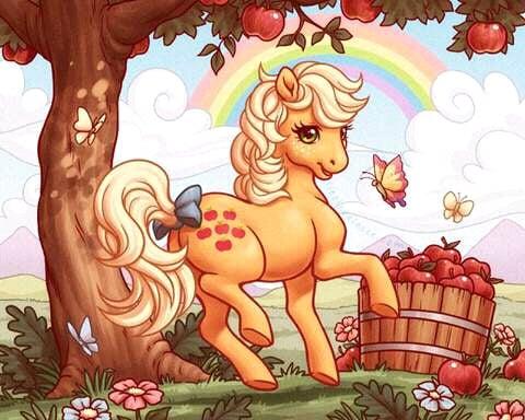 FB IMG 15264139417690172 The Original My Little Pony Names