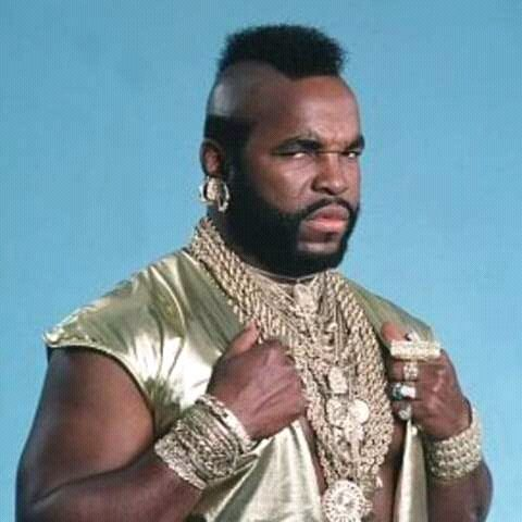 Mr. T in action