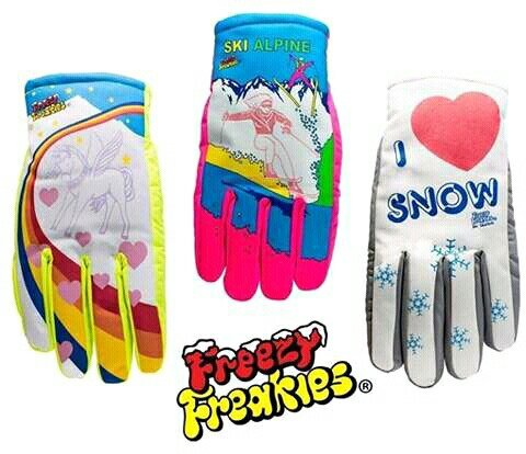 Some examples of Freezy Freakies