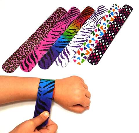 Slap Bracelets in the 1980s