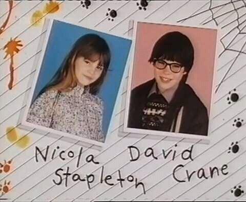 Nicola Stapleton and David Crane in Simon and the Witch