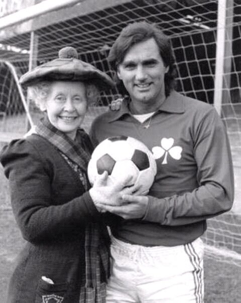 George Best with Super Gran