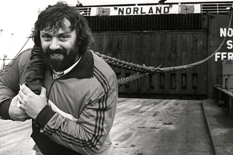 Geoff Capes in his 80s heyday