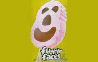 A Funny Faces ice cream advert