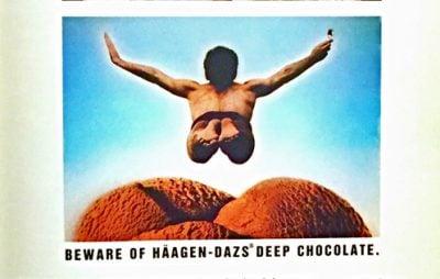 1980s original Haagen-Dazs packaging