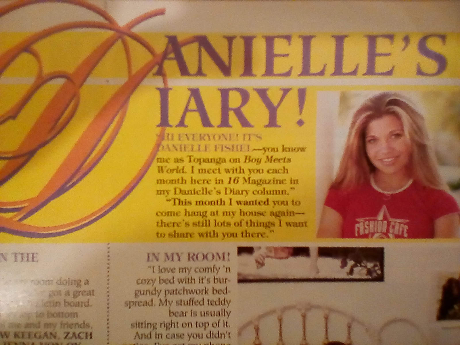 IMG 20180502 005703 Who Wants To Read Danielle Fishel's Diary?