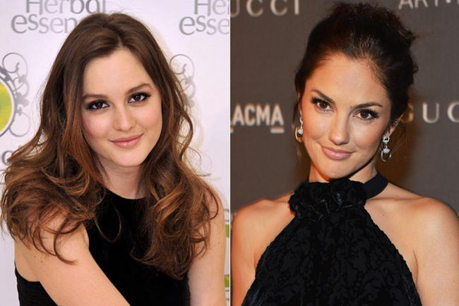 Leighton Meester Minka Kelly These 25 Celebs and Their Doppelgangers Will Make You Look Twice