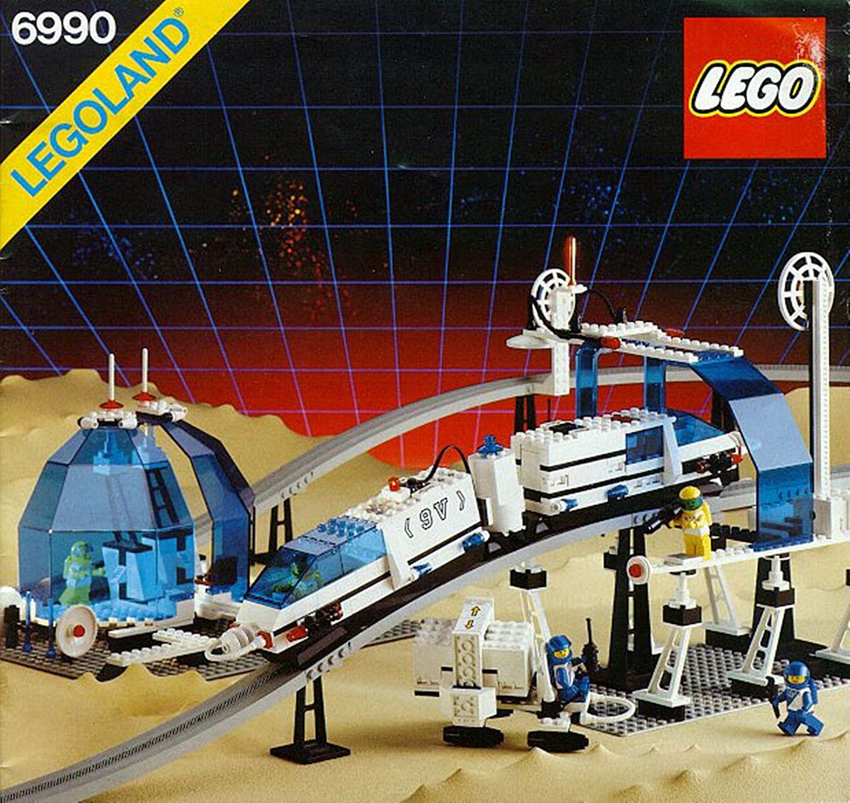 MONORAIL 10 Of The Best Lego Sets From Our Childhood