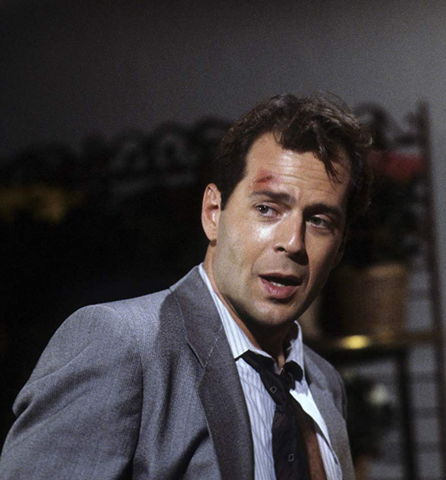 Bruce Willis as David Addison in Moonlighting