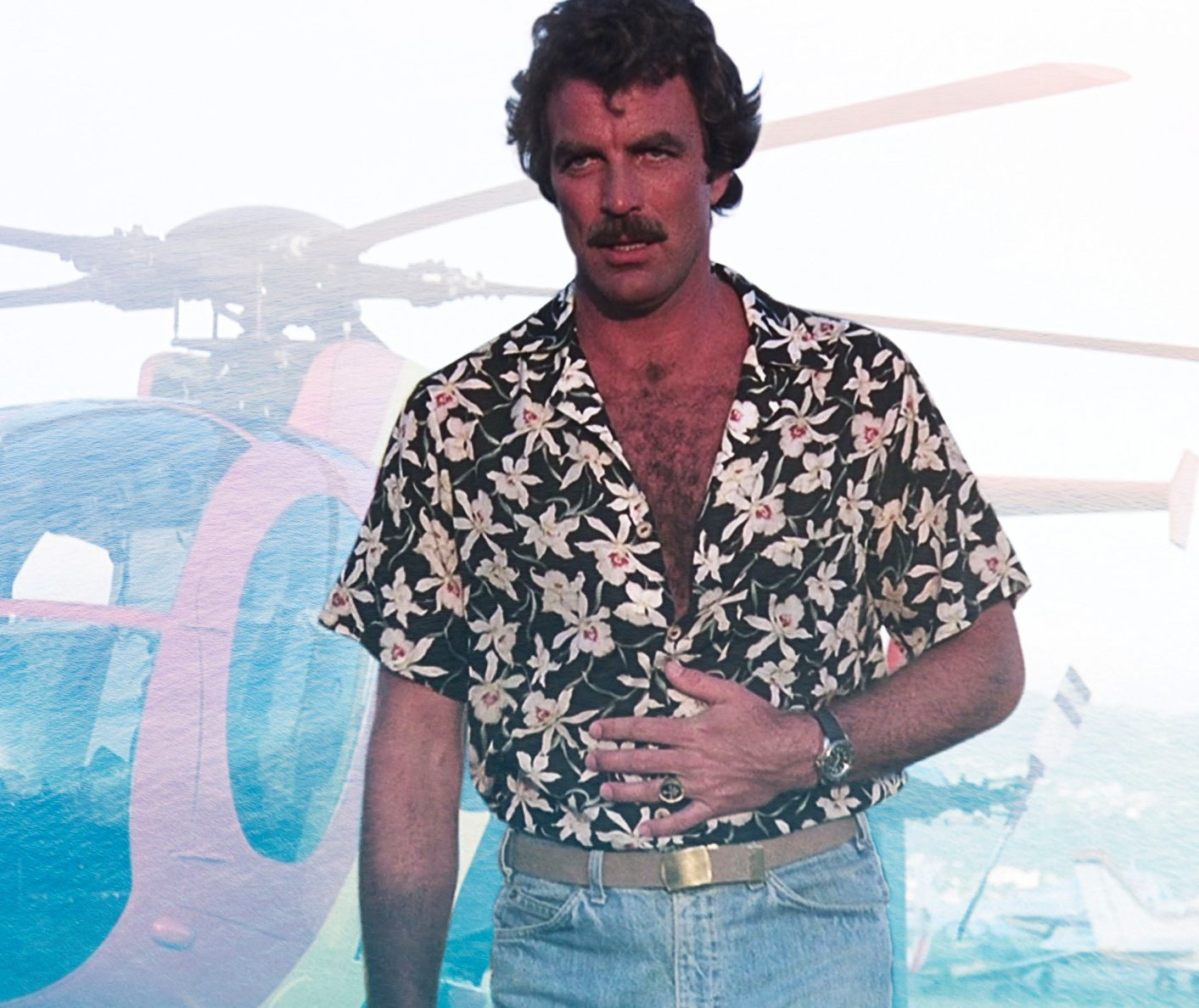 Magnum PI Summer Sexy Heartthrob e1614697145889 25 Things You Didn't Know About Magnum, P.I.