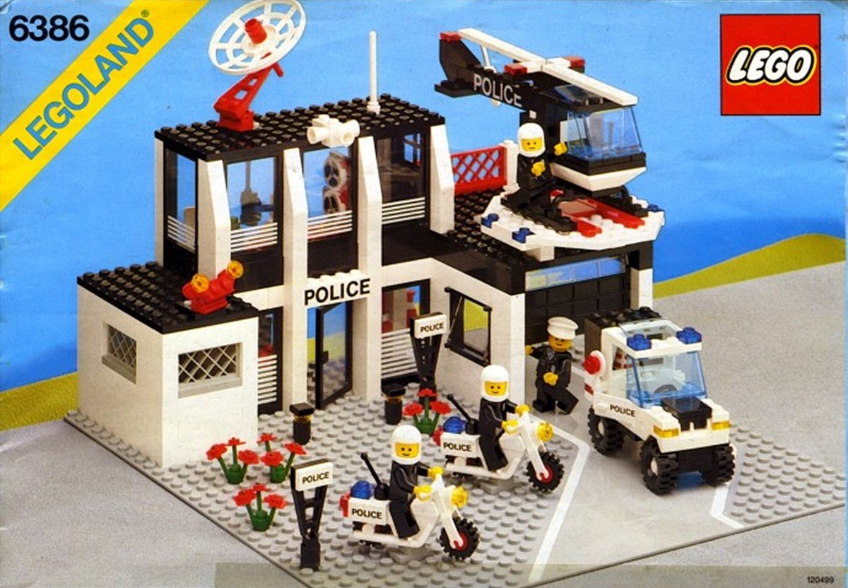 POLICESTATION 10 Of The Best Lego Sets From Our Childhood