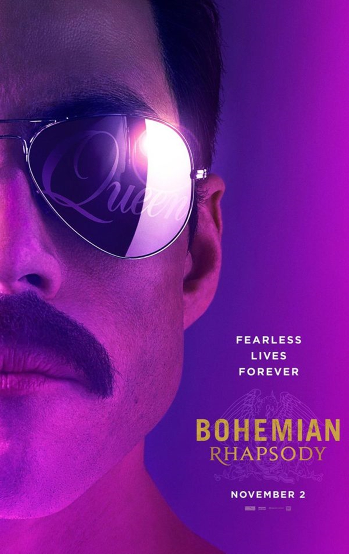 POSTER 1 Here's The First Trailer And Poster For The Queen Biopic 'Bohemian Rhapsody'!