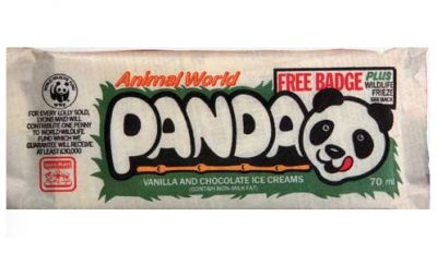 A Panda ice cream bar from the 80s