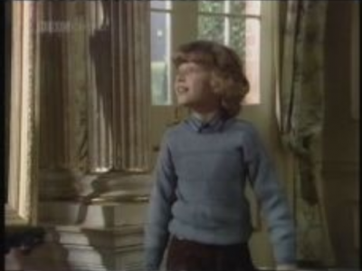 Cuthbert in a scene from the series
