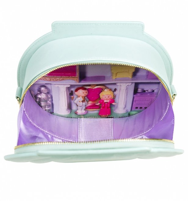 TS Aqua Polly Pocket Shell Shaped Cross Body Bag 37 99 Inside 617 662 Hey 90's Kids! Relive Your Childhood with This Polly Pocket Clothing Range