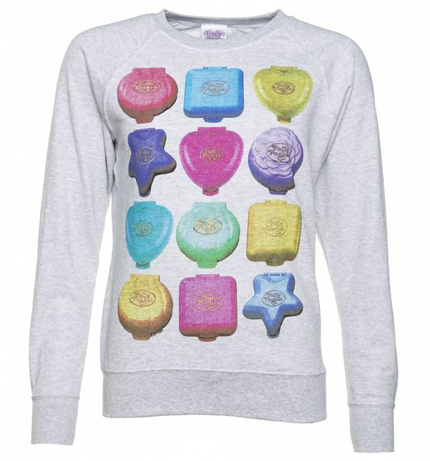 TS Womens Polly Pocket Playsets Grey Sweater 29 99 1 617 662 Hey 90's Kids! Relive Your Childhood with This Polly Pocket Clothing Range