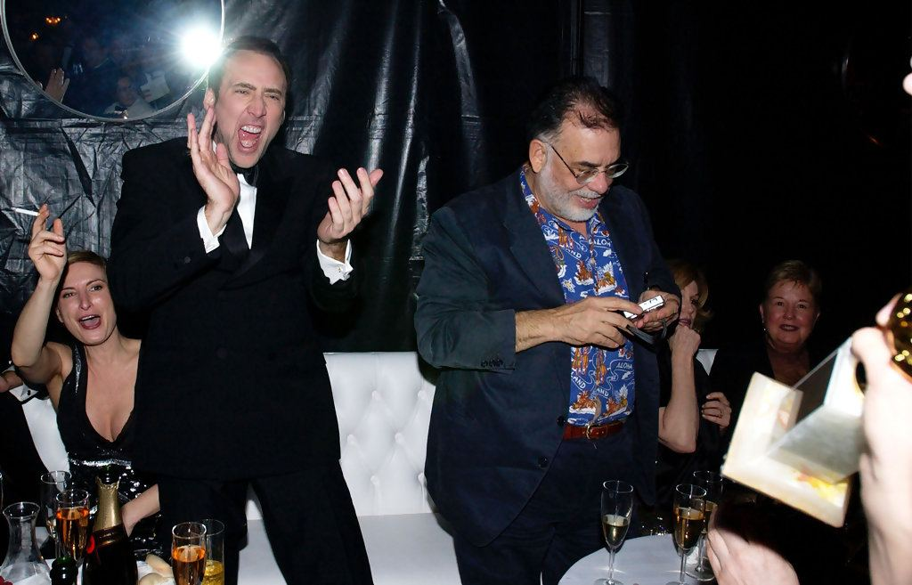 UniversalGoldenGlobeAfterPartyV y4 20 Fascinating Facts You Didn't Know About Nicolas Cage